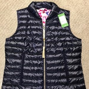 Jackets & Blazers - NWT Lilly Pulitzer Puffer Vest